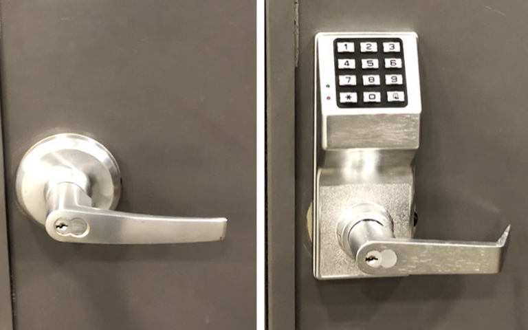 Commercial Electric Key-pad Lock Repair Service in Houston, TX area